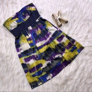 Max and Cleo satin cocktail dress